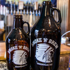 Draft growler fill up local beer