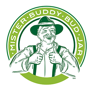 mister buddy bud jar cbd hemp flower